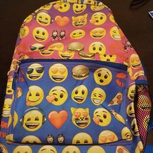 Emoji, Shopkins backpacks